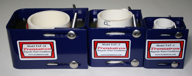 Trentatron Family of Magnetic Water Conditioners
